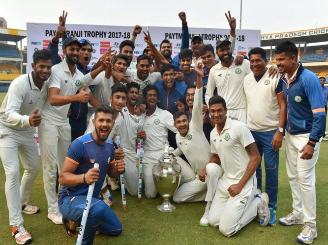 Suggestions for Ranji to be played in 3 groups