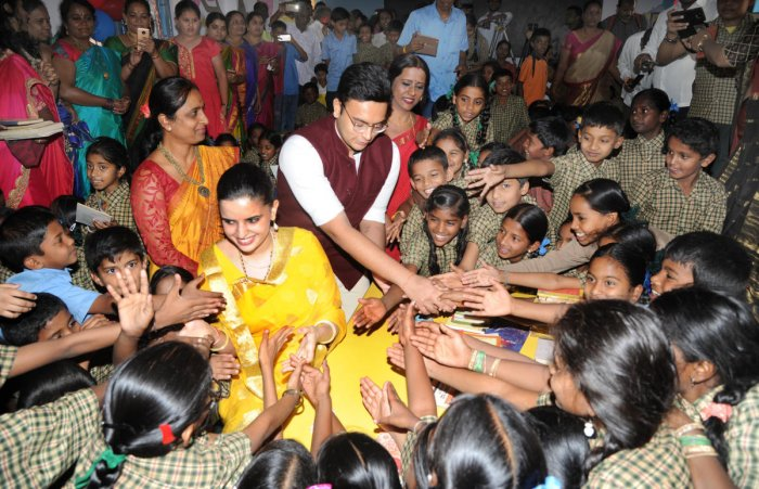 Will you send your son to a govt school, kids ask Yaduveer