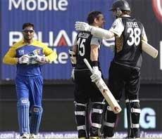 New Zealand win thriller against Lanka in Twenty20 WC opener