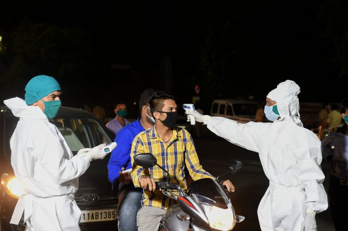 In Surat, number of coronavirus positive cases rose to 601 with 31 new cases. (Credit: AFP Photo)