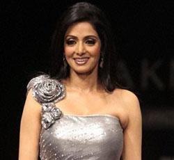 Nervous Sridevi almost trips at Neeta Lulla's show