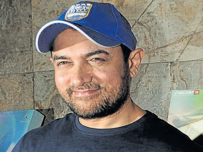 Aamir Khan believes he is not a natural actor and unlike others has to work his way through a performance to reach the perfect pitch. File photo