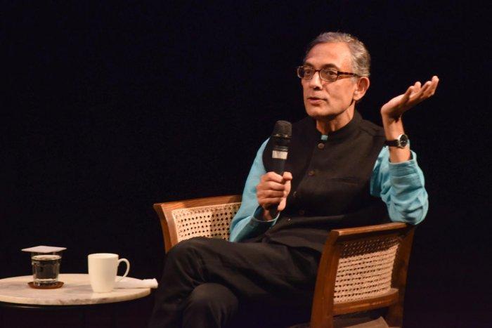Nobel Laureate Abhijit Vinayak Banerjee. (DH file photo)