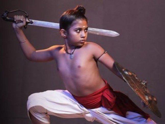Achuthan in 'Mamangam'