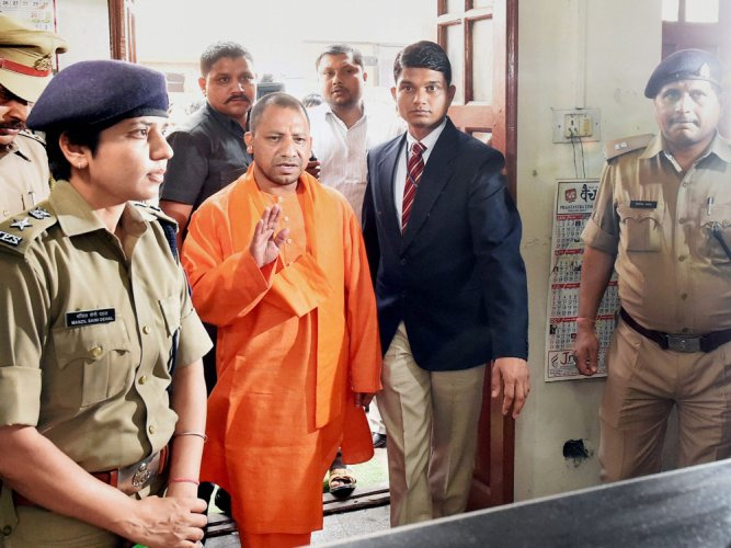 "The myth about the monk-turned-chief minister has unravelled. Neither Adityanath nor his party, the BJP, that had all along trumpeted itself as a ""party with a difference"", could live up to the expectations of those who were hoping that lawless UP would soon turn into a paradise under the Yogi. (PTI File Photo)"