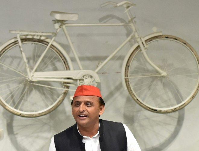 Samajwadi Party (SP) president Akhilesh Yadav. PTI file photo