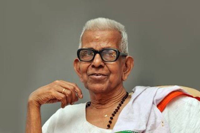 Akkitham was widely considered as the one who introduced modern aspects to Malayalam poetry.