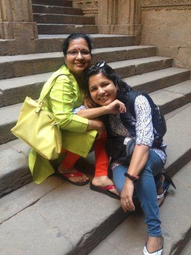 Apeksha and Vijay