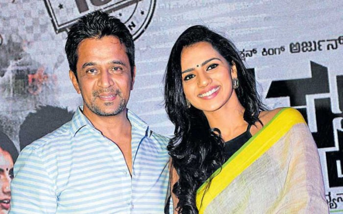Shruthi said everything was normal during the initial days, but during a rehearsal for a romantic scene, Arjun Sarja hugged her without permission, ran his hands intimately up and down her back and pulled her closer.(DH File Photo)