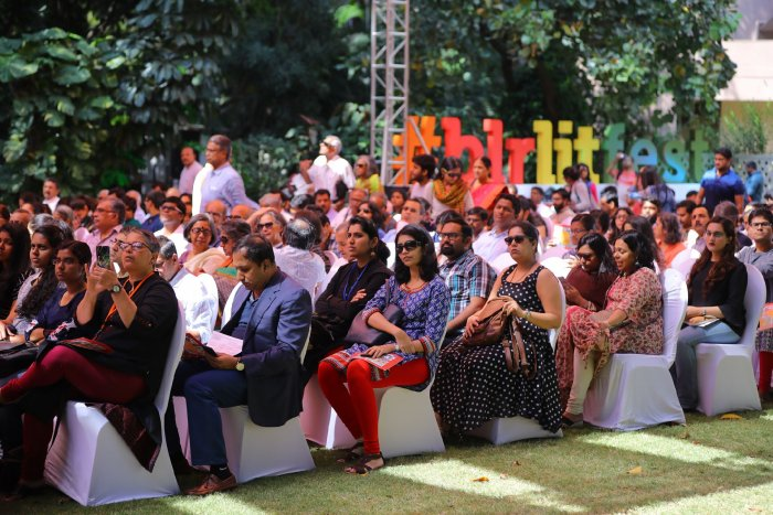The festival is organised with the objective of bringing both, established and aspiring writers, under a common platform.