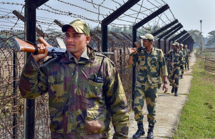 Speaking to reporters, Inspector General of BSF (South Bengal Frontier) Y B Khurania said that the outflow of such illegal Bangladeshi migrants is highest through North 24 Parganas district which shares border with Bangladesh. Credit: PTI