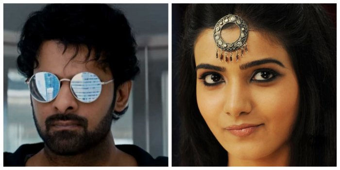 Samantha and Prabhas have never worked together.(Credit:Screengrab/Facebook)