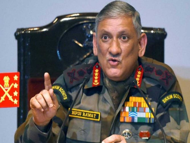 Chief of Army Staff General Bipin Rawat has said that country will keep quiet on the retaliatory action against Pakistan in wake of the Pulwama attack. PTI file photo