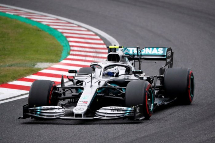 Mercedes driver Valtteri Bottas was fastest in practice for the weekend's Japanese Grand Prix. Picture credit: Reuters