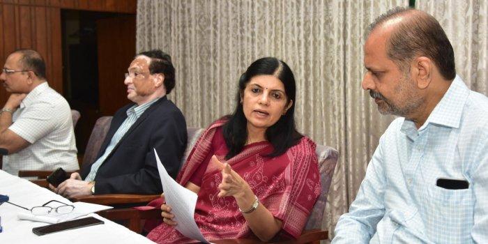 C Jayaram (Right) is the new head of KSPCB