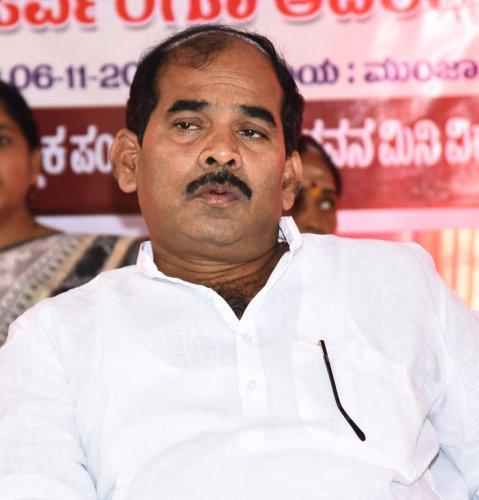 Karnataka Municipalities Minister C S Shivalli