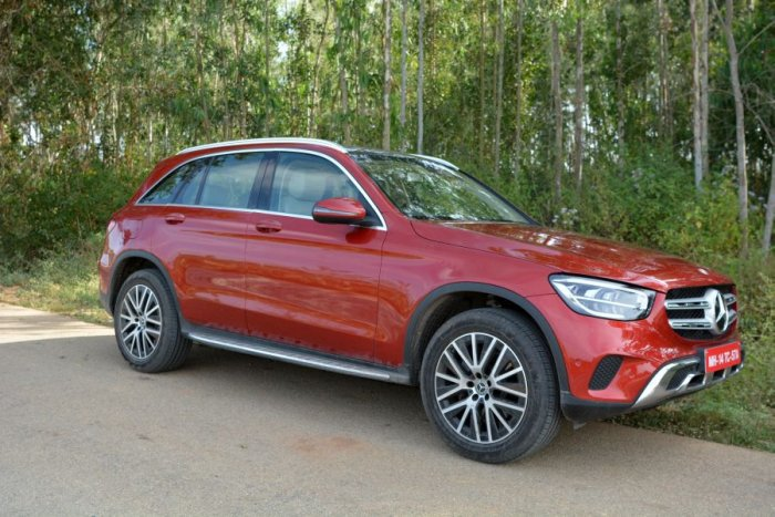 The new Mercedes-Benz GLC 200 is priced at Rs 52.75 lakh, and the GLC 220d is priced at Rs 57.75 lakh ex-showroom, pan India. (Vivek Phadnis/ DH Photo)