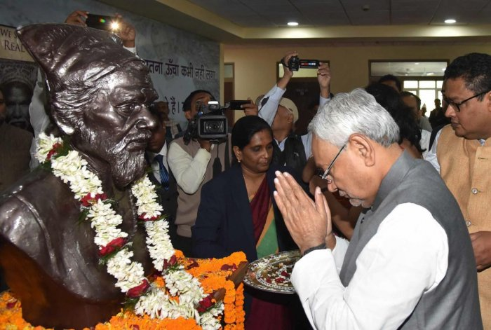 As Dashrath Manjhi, the man who broke through a hillock, working for 22 odd years with hammer and chisel lives on in the memory of people even after 12 years of his death in 2007, politicos are invoking his memory.