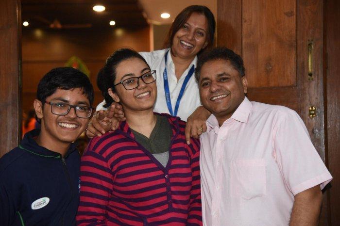 Era Gupta and her family.