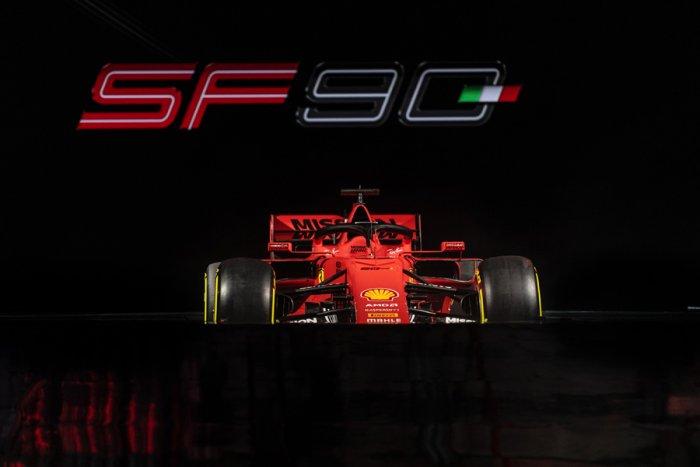 The Ferrari SF90. Picture credit: Scuderia Ferrari