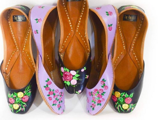 Juttis originated from various parts of North India, mainly from Punjab and parts of Rajasthan.