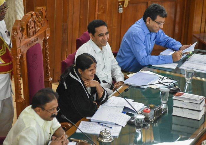 Mayor Gangambike Mallikarjun