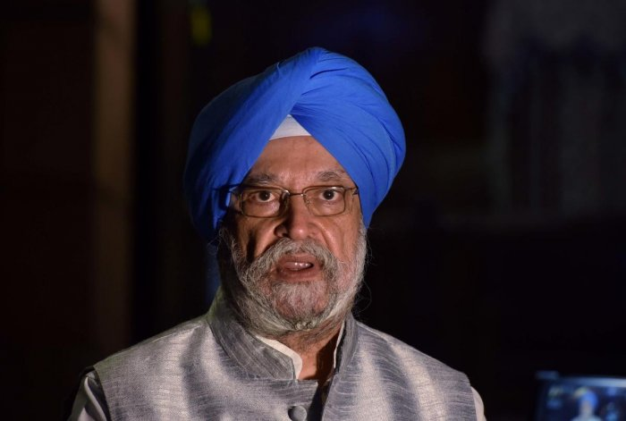 Union Civil Aviation Minister Hardeep Singh Puri. Credit: PTI Photo