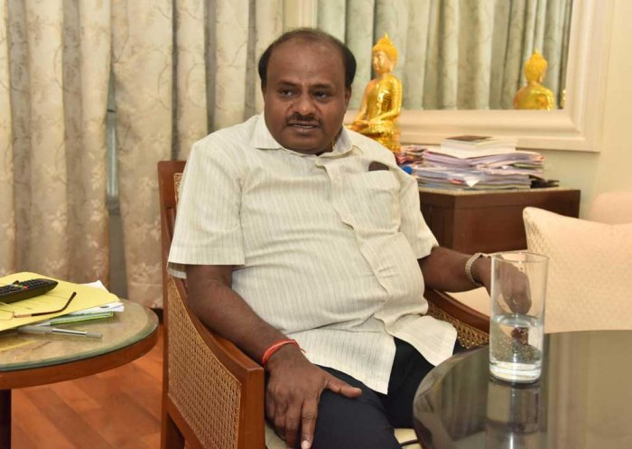 Chief Minister H D Kumaraswamy on Saturday held a meeting of the JD(S) legislature party to discuss among others things forging an alliance with the Congress in urban local bodies (ULBs) which have witnessed a hung verdict in the recent elections. DH file photo