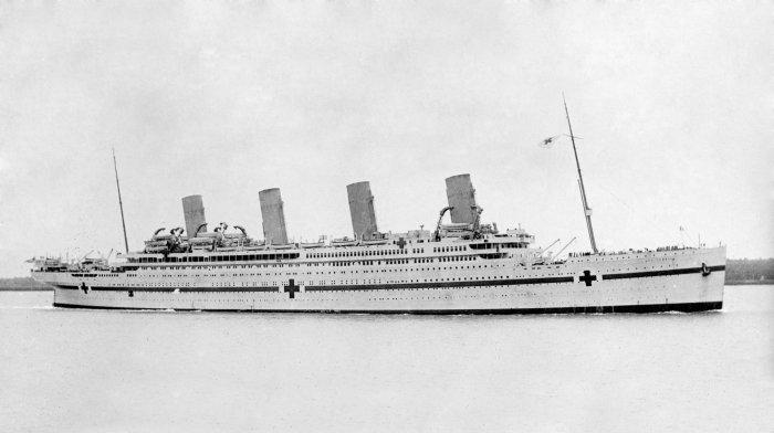 HMHS Britannic (Picture credit: Wikipedia)