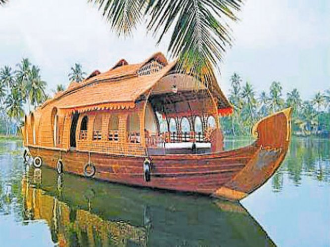 A houseboat cruise is a uniquely different experience that must not be missed, said district Tourism Department assistant director Anitha Bhaskar. Image for representation
