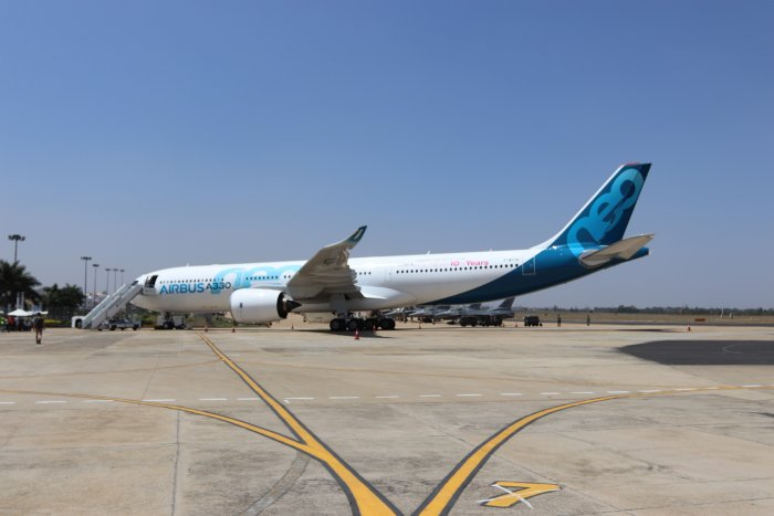 A330 at Aero India. DH photo
