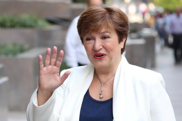 International Monetary Fund (IMF) Managing Director Kristalina Georgieva. (Reuters photo)