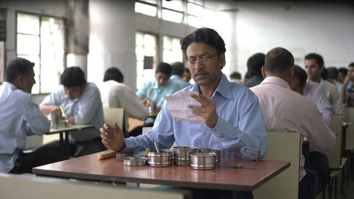 Irrfan Khan in a still from The Lunchbox. (Credit:IMDb)
