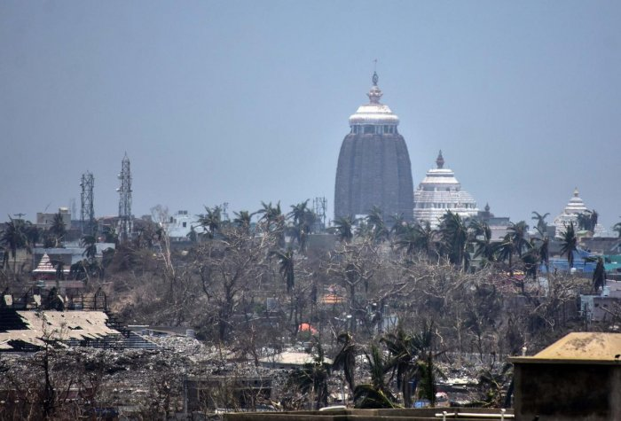 The Puri temple administration is contemplating to auction the live-telecast rights of the Rath Yatra or the car festival of Jagannath, Balabhadra and Subhadra, the three presiding deities of the Hindu shrine. AFP file photo
