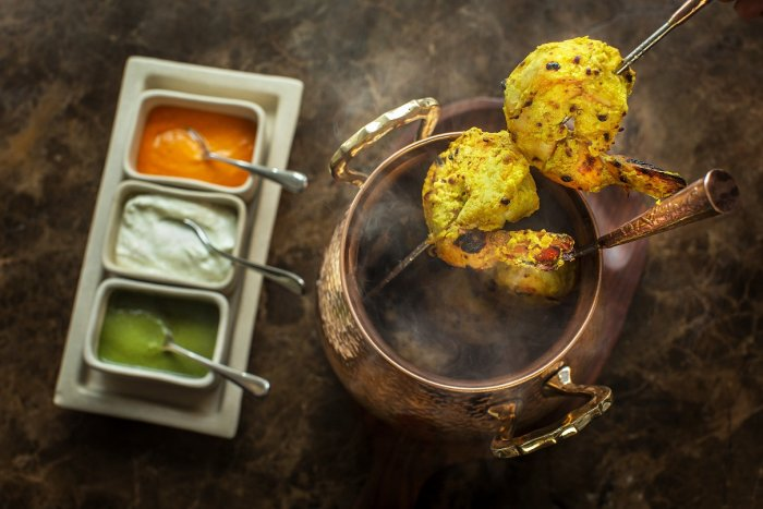 Lasooni Jheenga is one of the additions in the new menu.