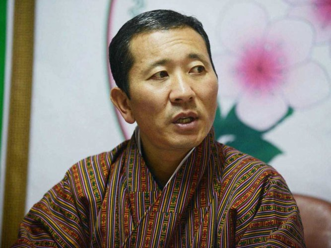 Lotay Tshering will pay a state visit to New Delhi from Thursday to Saturday. (Credit: Twitter)