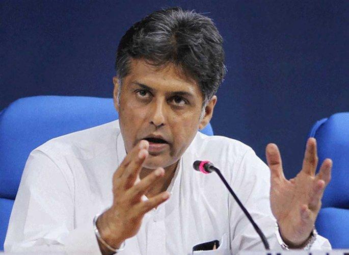 Congress leader Manish Tewari. (DH Photo)