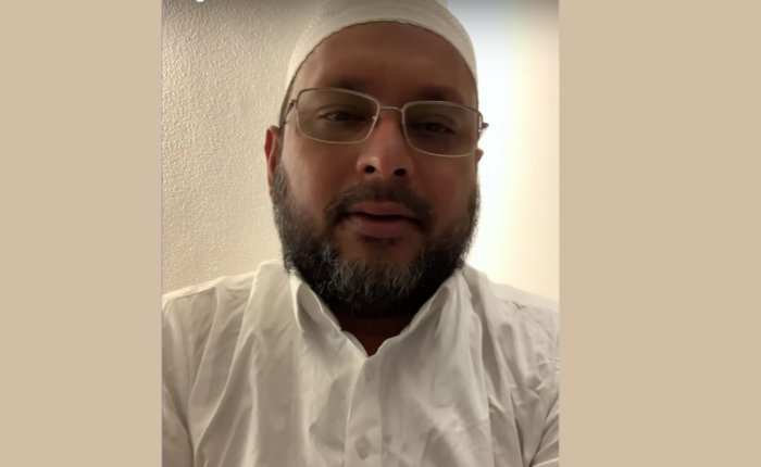 In photo: Managing Director and CEO of I Monetary Advisory (IMA), Mohammed Mansoor Khan, who is accused of cheating nearly 40,000 investors inthe multi-crore (IMA) scam.
