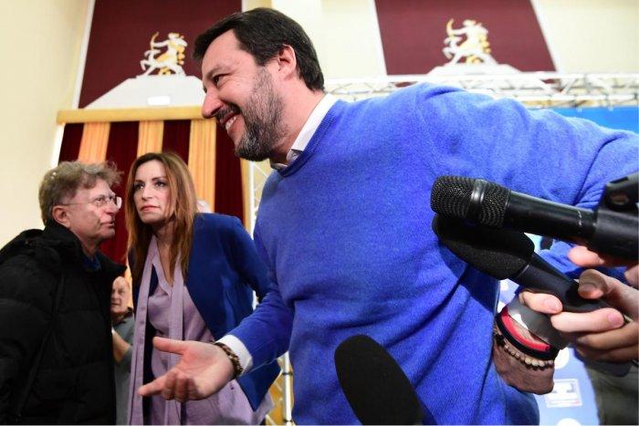 Matteo Salvini. AFP