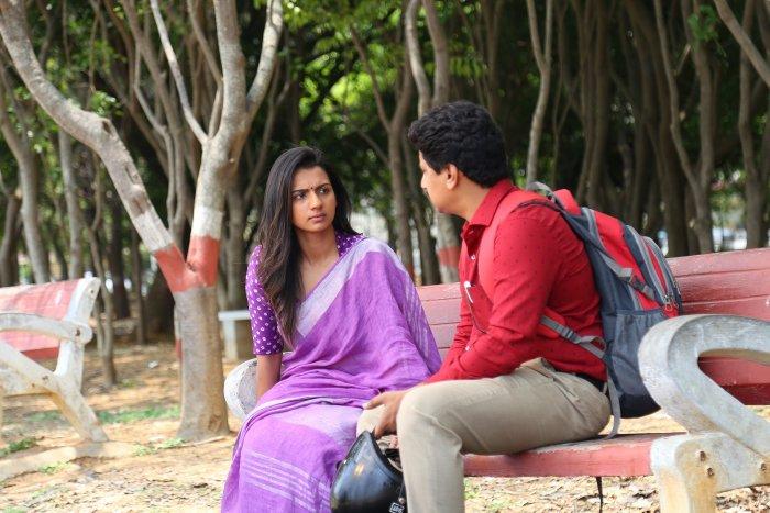 A still from 'Nathicharami' movie.