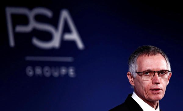 Carlos Tavares, Chief Executive Officer and Chairman of the Managing Board of PSA Group. (Reuters photo)