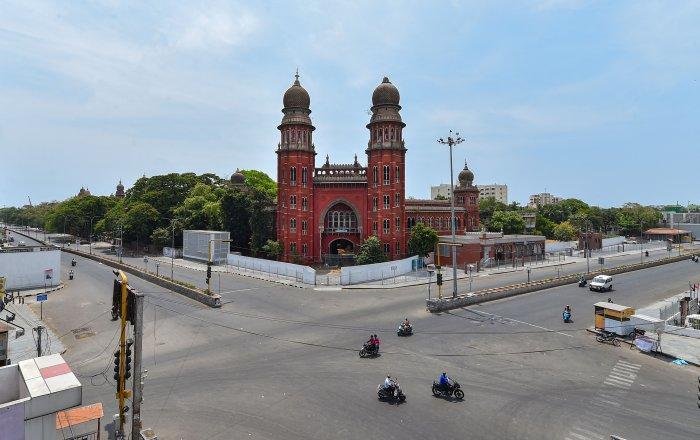 Madras High Court. (Credit: PTI Photo)