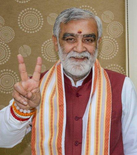 Union Minister of State for Health and Family Welfare Ashwini Kumar Choubey. (PTI Photo)