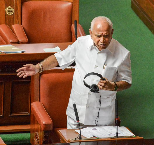 Earlier in the day, Yediyurappa urged citizens to celebrate Ugadi at home.(Credit: PTI Photo)