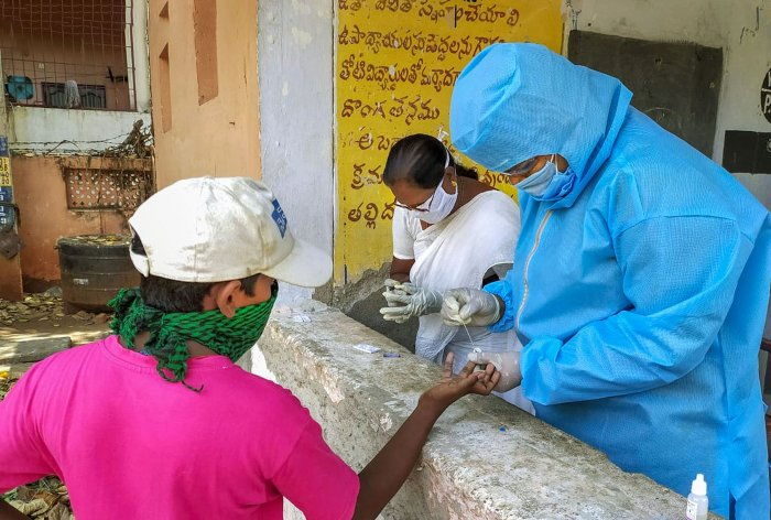 Jaipur has maximum number of 798 coronavirus positive cases in the state followed by 349 in Jodhpur. (Credit: PTI Photo)