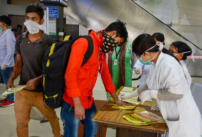 Two COVID 19 positive cases has been reported so far in the Northeast, one each in Manipur and Mizoram.(Credit: PTI Photo)