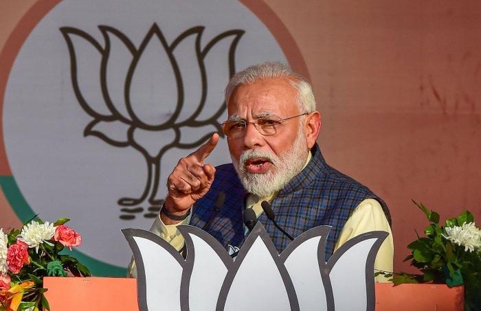 Prime Minister Narendra Modi . (PTI Photo)