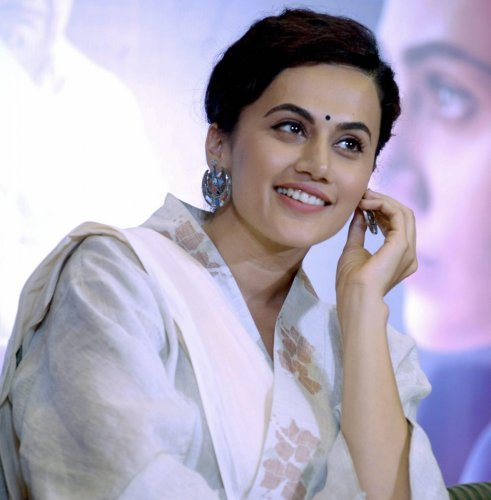 Taapsee Pannu is one of the most popular actresses in Bollywood. (Credit: PTI photo)