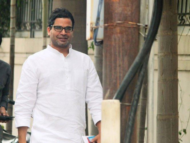 Poll strategist and national vice-president of the Janata Dal (United) Prashant Kishor. (File Photo)
