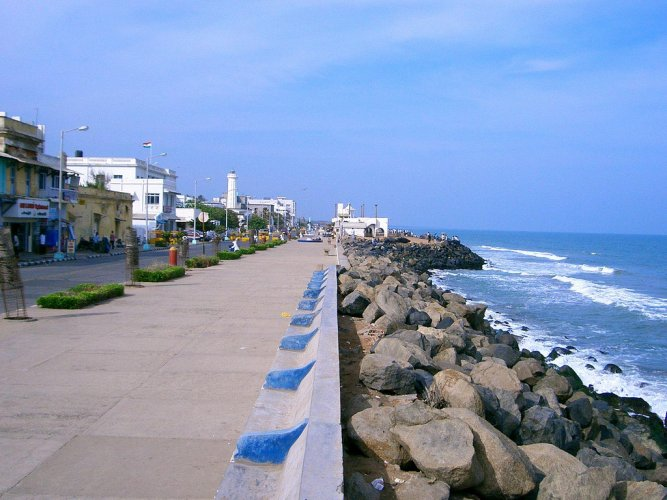 Puducherry, with its scenic beaches and world-class resorts, attracts more than a million domestic tourists every year.